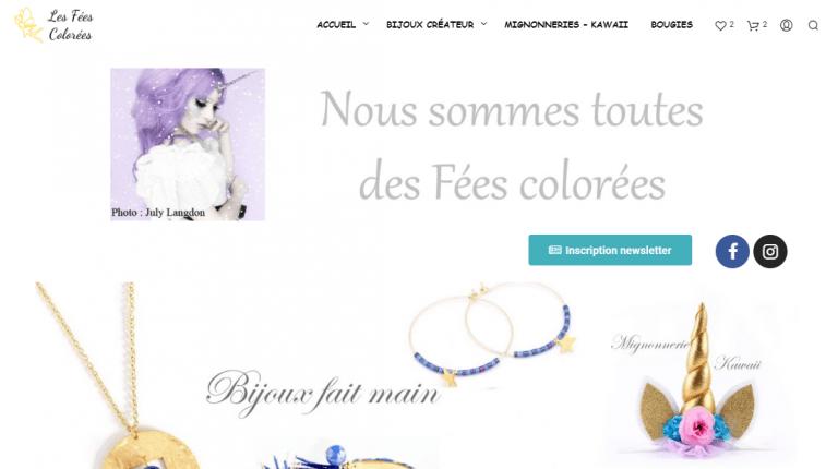Read more about the article Les fées colorées font peau neuve