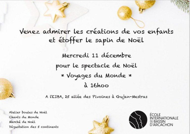 Read more about the article Marché de Noël école internationale du Bassin d'Arcachon