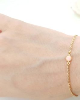Bracelet opale rose