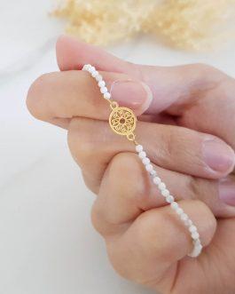 Bracelet pierre Howlite