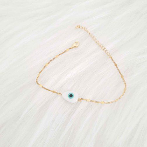 Bracelet oeil boho doré bijoux