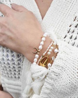 Bracelet nacre corne