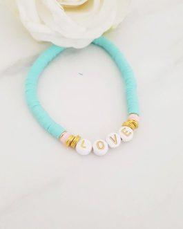 Bracelet heishi love