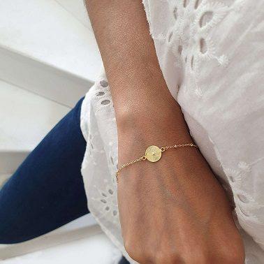 Bracelet rond structuré