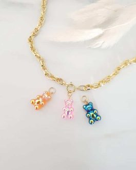 Collier oursons candy interchangeables