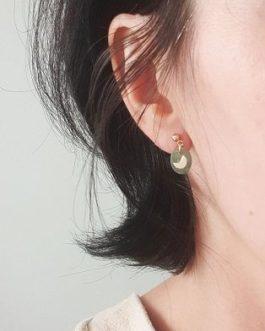 Boucles d'oreilles pierre aventurine